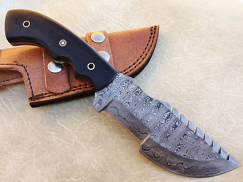 Damascus Tracker Knife-TR1