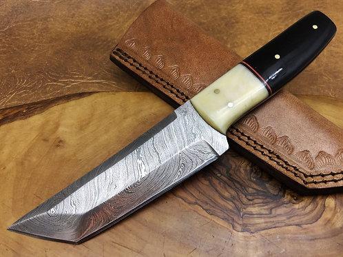Damascus Steel Knife TANTOO-H9-B