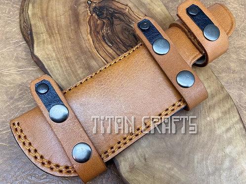 Cowhide Premium Leather Sheath 21 cm 1TN