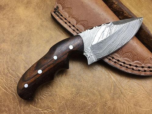 Damascus Steel Skinner Knife -568