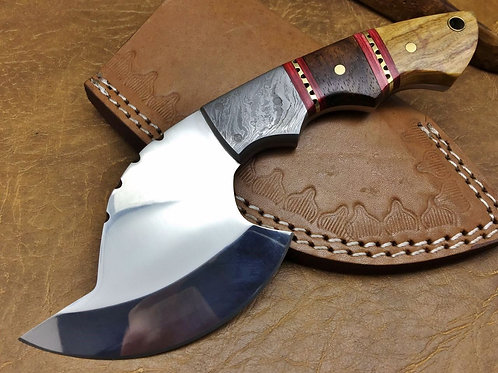 Handmade 440C Steel Ax-3 Olive