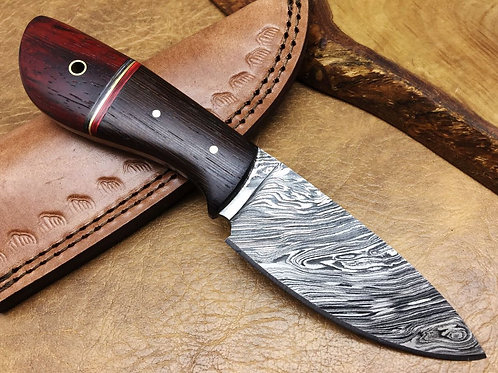 Damascus Steel Hunting Knife -SK2W