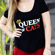 T-SHIRT QUEEN OF CATS