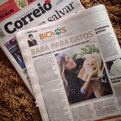 Matéria no Jornal Correio da Bahia