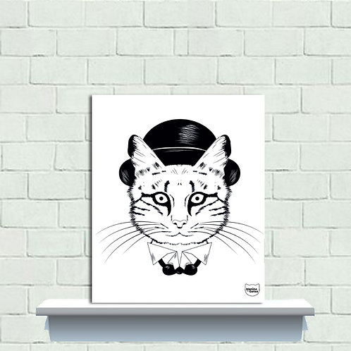 PLAQUINHA - CAT CHAPILIN