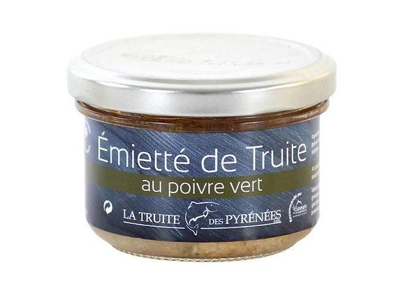 Emiettés de truite au poivre vert - env. 90g