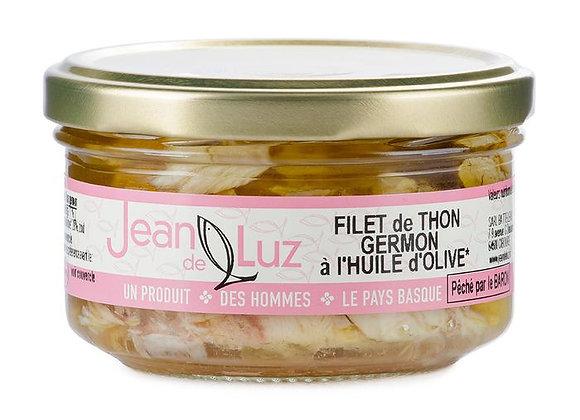 Filet de Thon Germon à l'huile d'olive - BIO