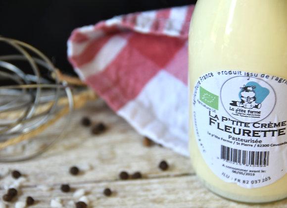 Crème fleurette pasteurisée bio - 275 ml