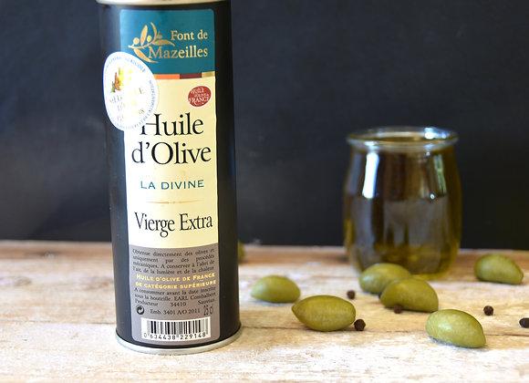 Huile d'olive la Divine - 250ml - Médaille d'or