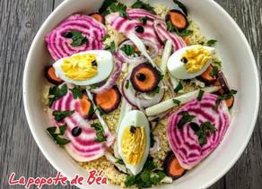 Salade fraîcheur d'hiver