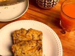Cake du petit-déjeuner à l'épeautre