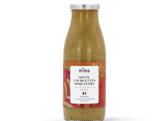 Soupe courgettes roquefort BIO - 500ml