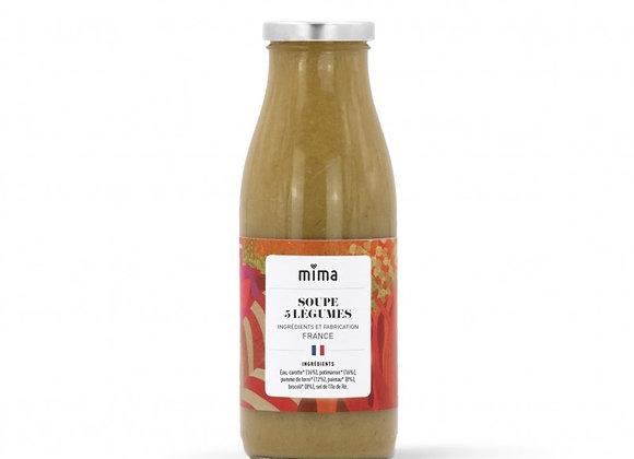 Soupe aux 5 légumes BIO - 500ml