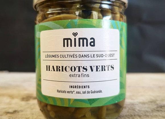 Haricots verts extra-fins conserve - BIO - Petit format 420gr