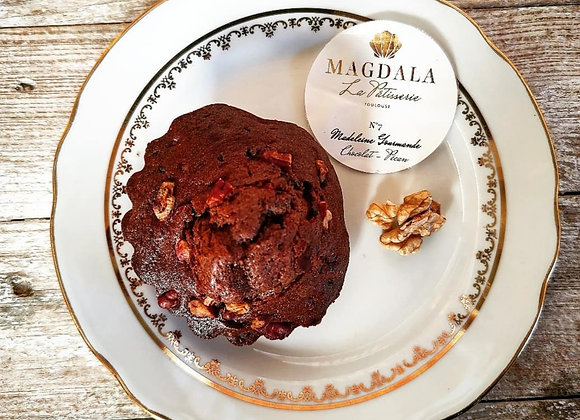 Madeleine chocolat-noix de Pécan - 70g