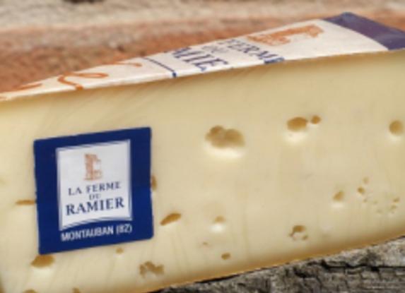 Tome de vache Ramier Roux - env. 200g
