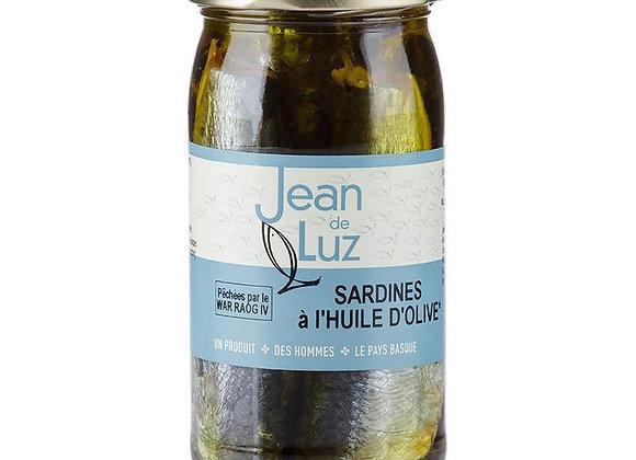 Sardines à l'huile d'olive - BIO