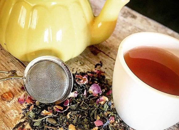 Thé vert à la menthe - Fleurs polaires - 50g