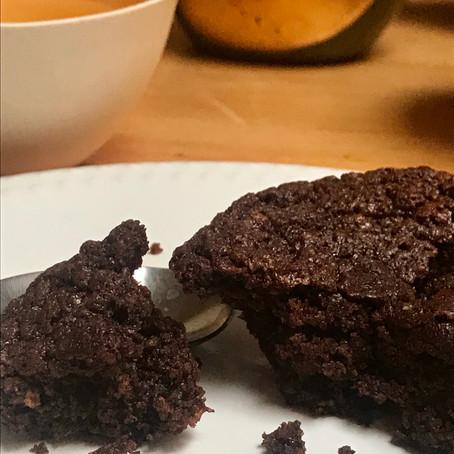 Moelleux au chocolat et à la farine de lentilles