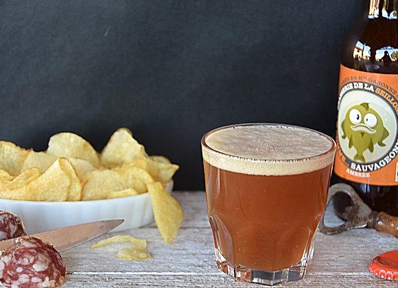 Bière ambrée la Sauvageonne