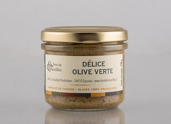 Délice d'olives vertes