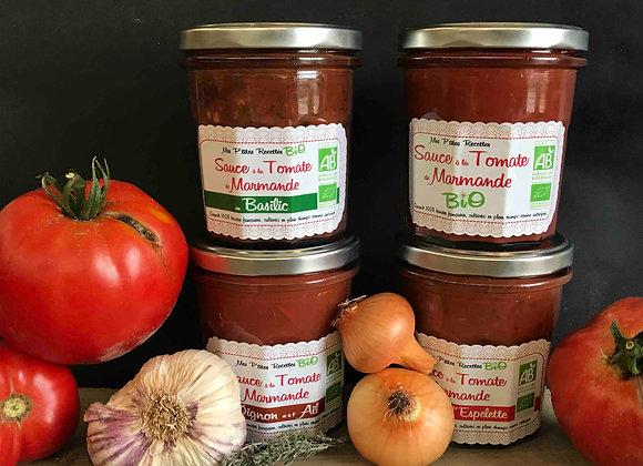 Sauce tomate Basilic- 300g