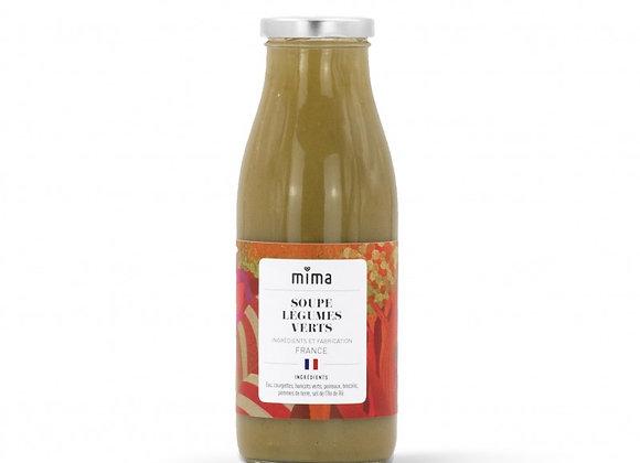 Soupe de légumes verts BIO - 500ml
