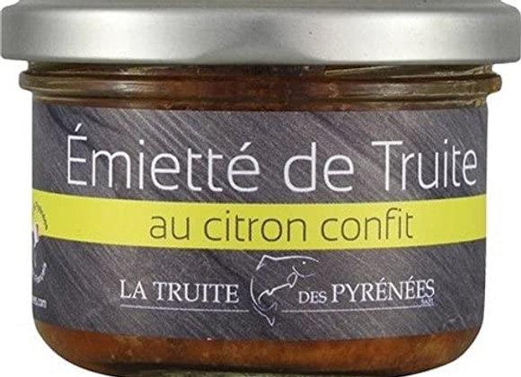 Emiettés de truite au citron confit - env. 90g