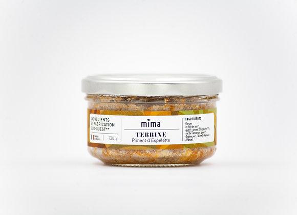 Terrine au piment d'Espelette - BIO