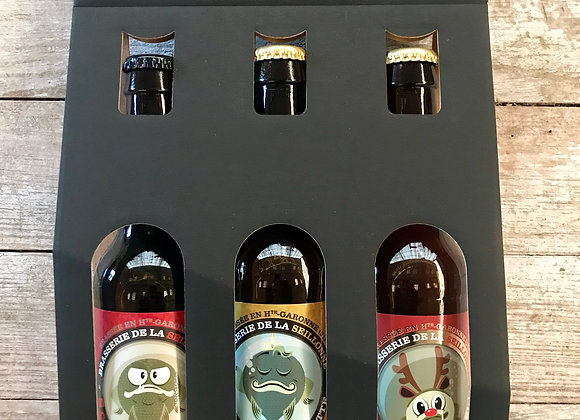 Coffret 3 bières