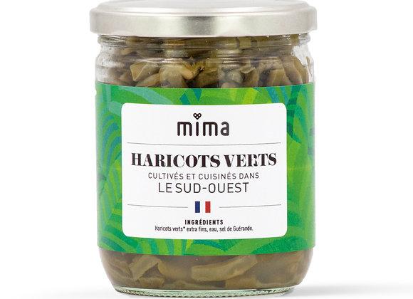 Haricots verts extra-fins au naturel - BIO