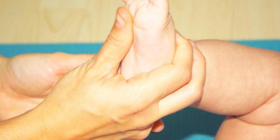 Curs de massatge per nadons