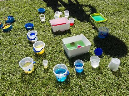 jocs d'aigua experimentació