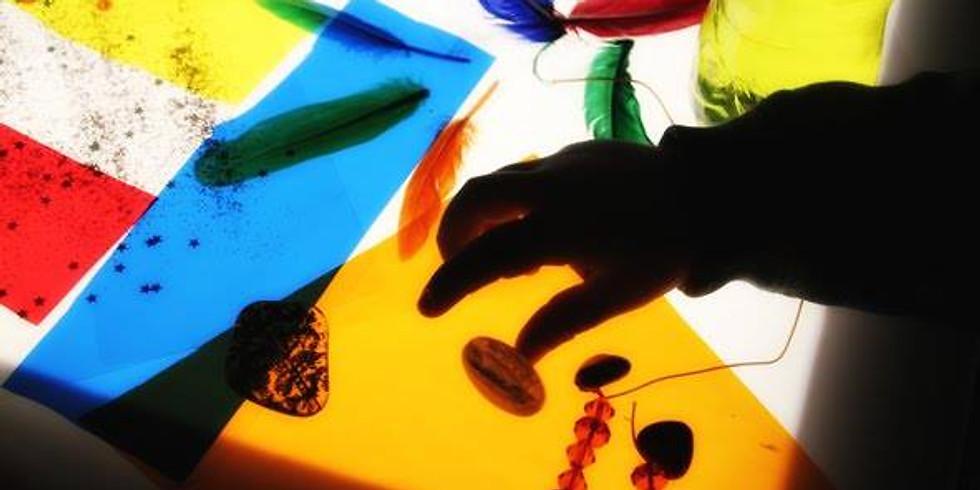 Taller de Llums i Colors per Grans a Te Creativa (Badalona)