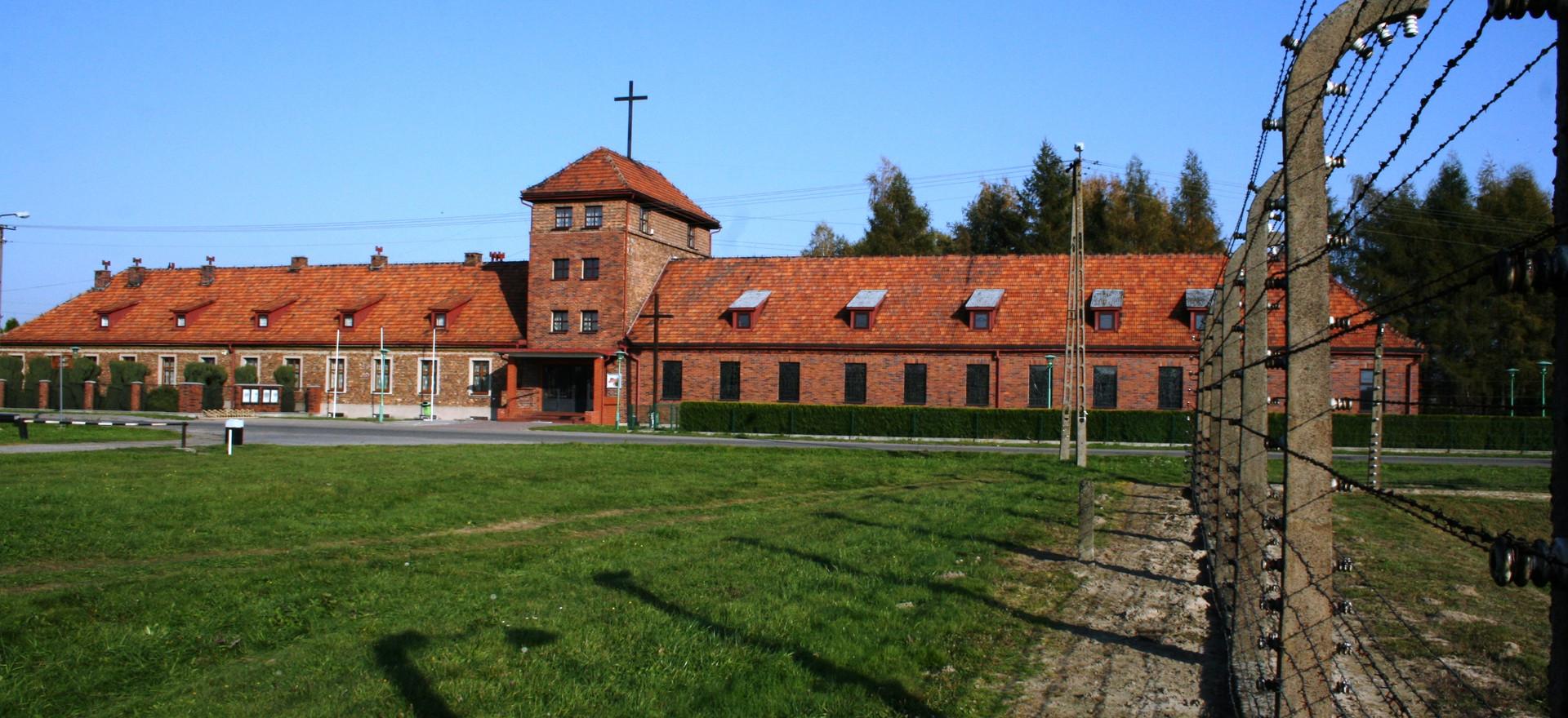 Het voormalige SS hoofdkwartier Birkenau