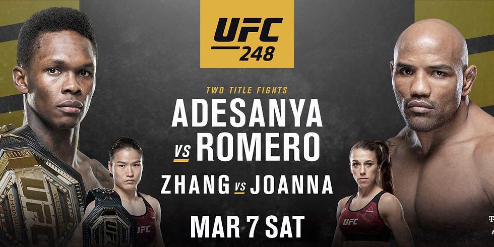 UFC 248 | Adesanya VS. Romero