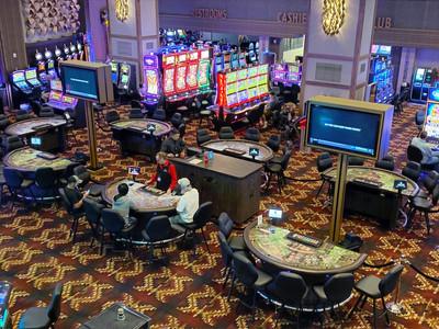 Coyote Valley Casino Game Floor