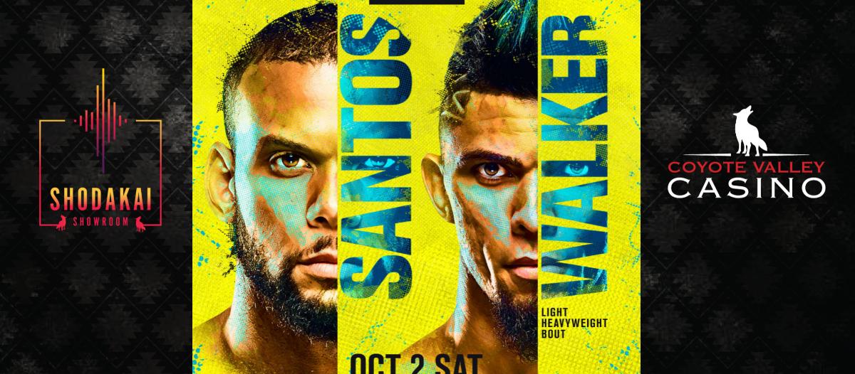 OCT. 2 | UFC Fight Night: Santos vs. Walker