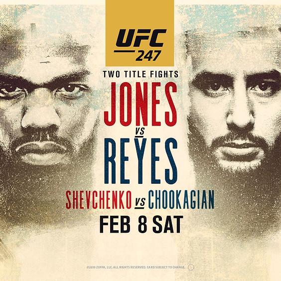 UFC 247 | Jones VS. Reyes