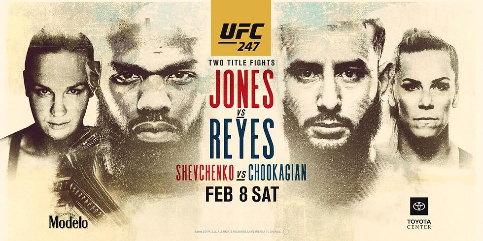 UFC 247   Jones VS. Reyes