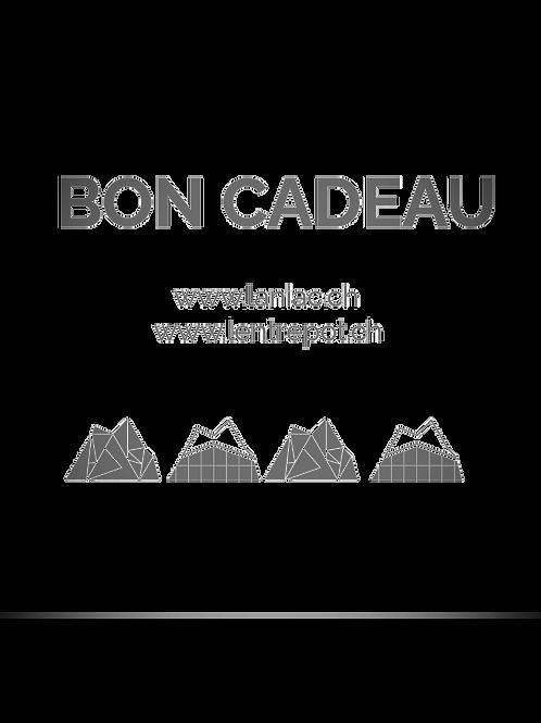 "BON CADEAU ""L'Entrepôt et Laniac Escalade"""