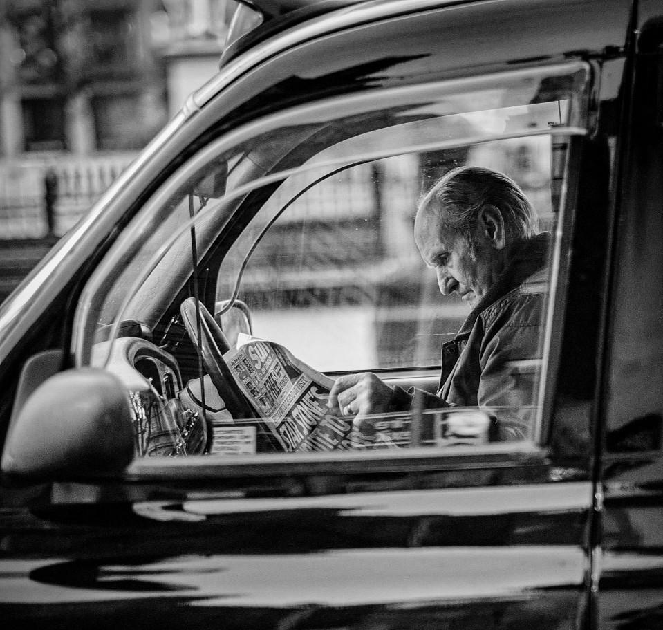 MONO - Black Taxi Taking a Break by Conor Davidson (10.5 marks)