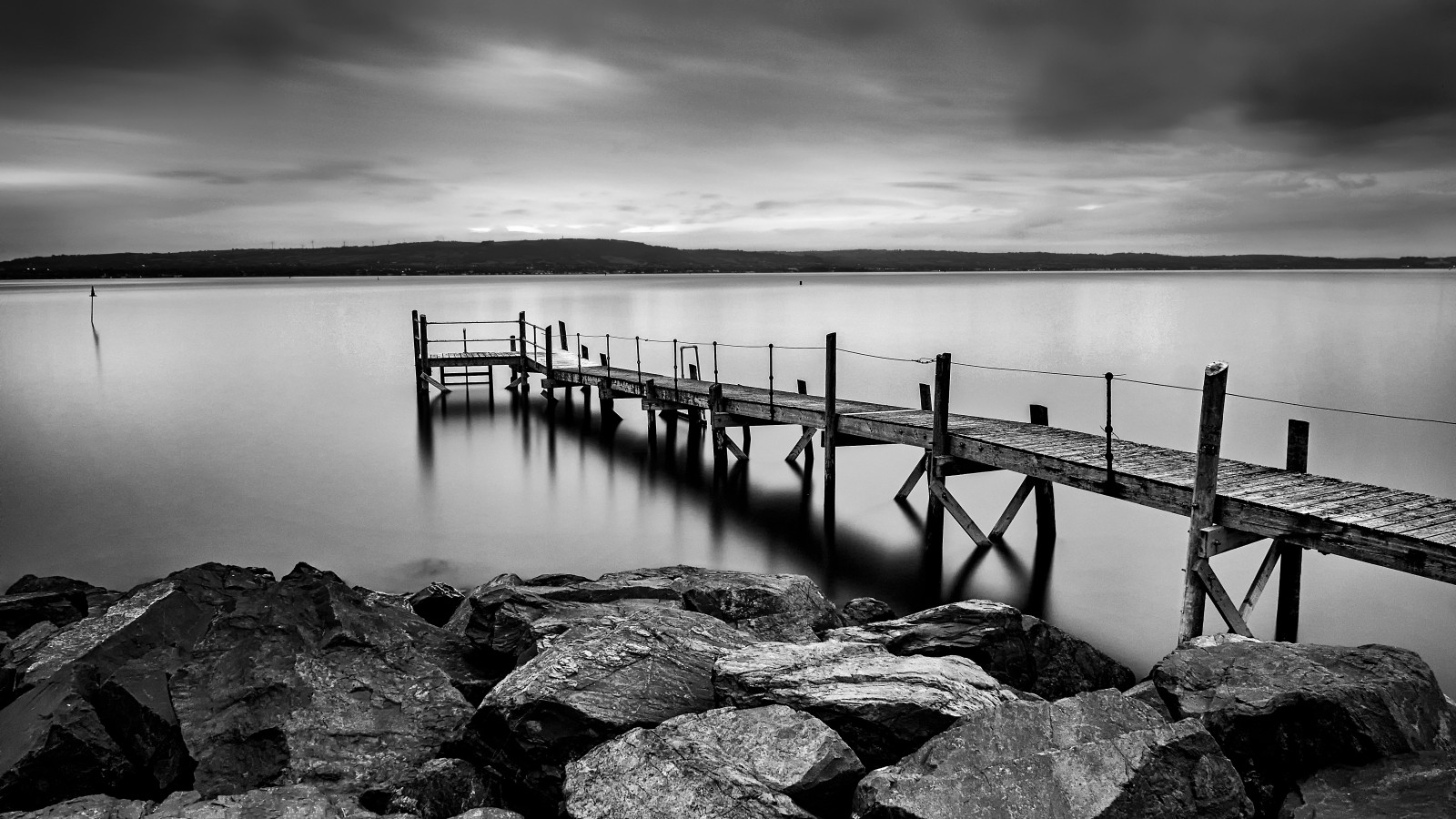 MONO - Holywood Pier by Marc Bell (10.5 marks)
