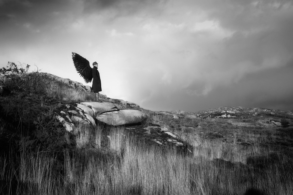 MONO - Angel on the Outcrop by Judith Kimber (13.5 marks)