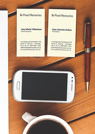 Tarjetas personales Standard (1 cara)