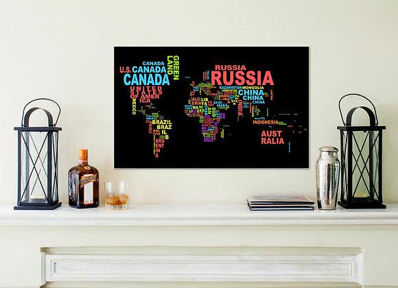 Poster Mapa