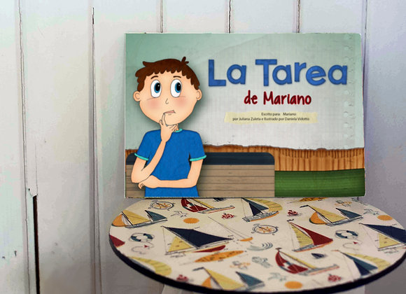 Cuento Infantil Chico (A5) TAPA DURA