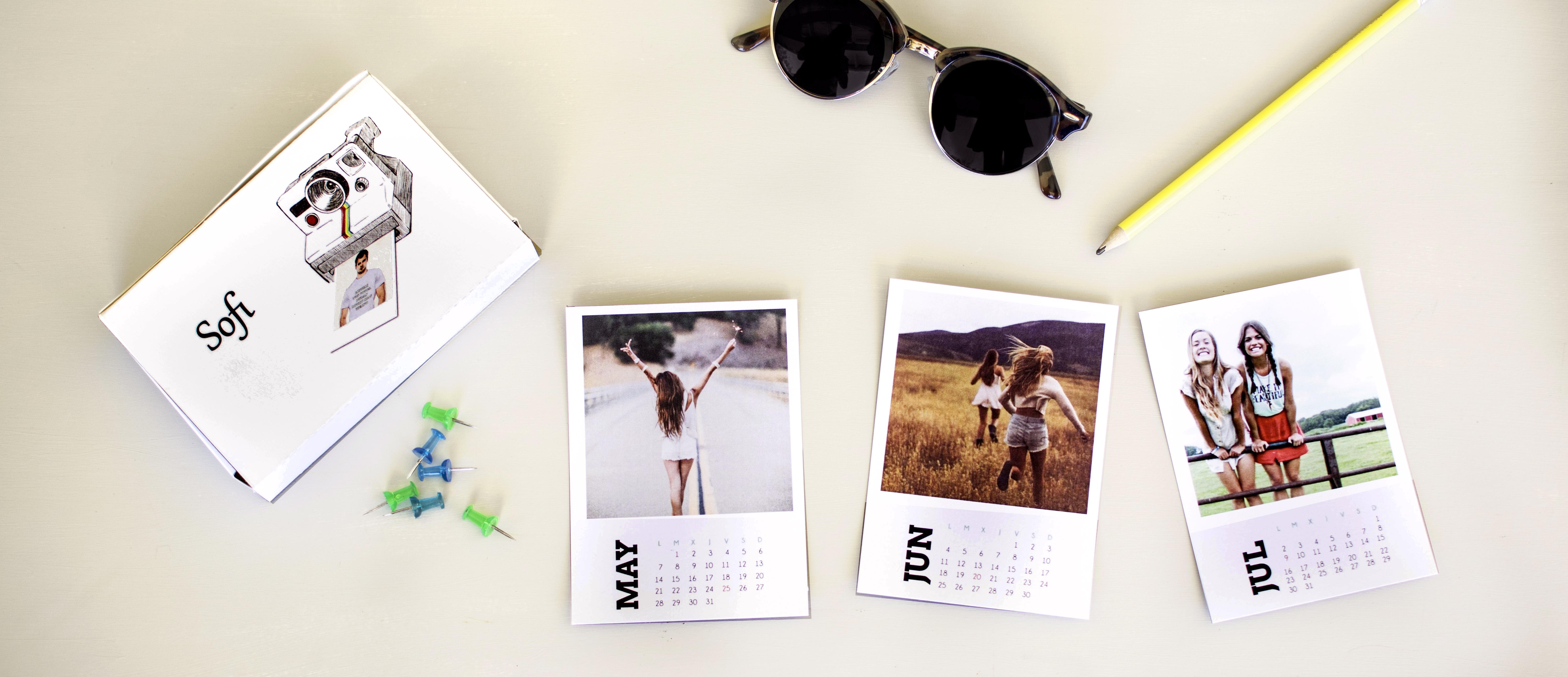 Calendario Polaroid