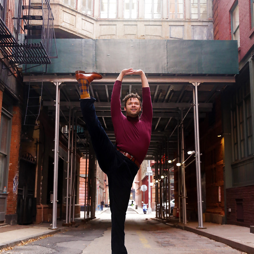 VIRTUAL LIVESTREAM | Nathan Fister: All Levels Theatre Dance