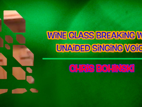 Glass Breaking by Boh the Smile Guy!